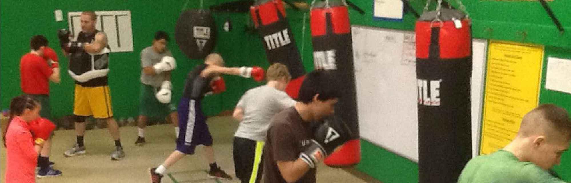 Blanc's Boxing Gym